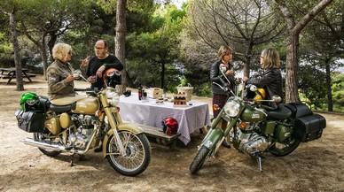 Una de las salidas propuestas por Angie y Deme, esta con p�cnic en el Mirador del Migdia.