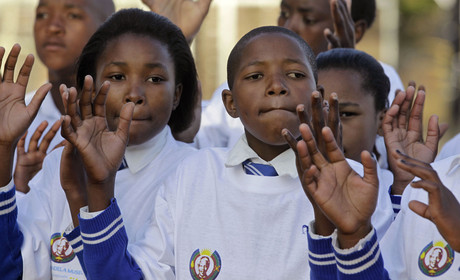 Sud�frica celebra el 93� aniversario de Nelson Mandela