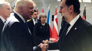 Y Rajoy conoció a Trump