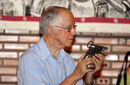 Pere Casaldàliga, en una imagen del año 2007.