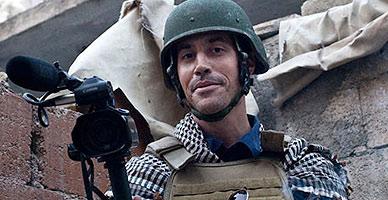 El periodista James Foley, en una imagen de archivo tomada en Alepo (Siria).