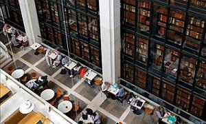 Una de las salas de la Biblioteca Brit�nica