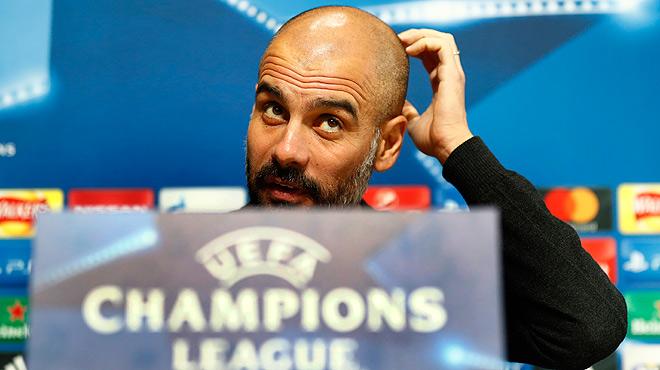 Guardiola asegura que no negó el saludo a Cesc: ¿Le saludé en el vestuario, en el campo no me di cuenta¿