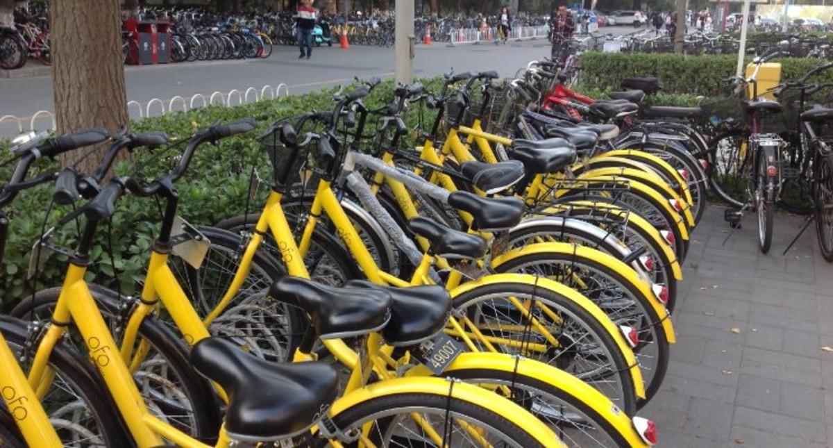 Bicicletas colaborativas Ofo en China