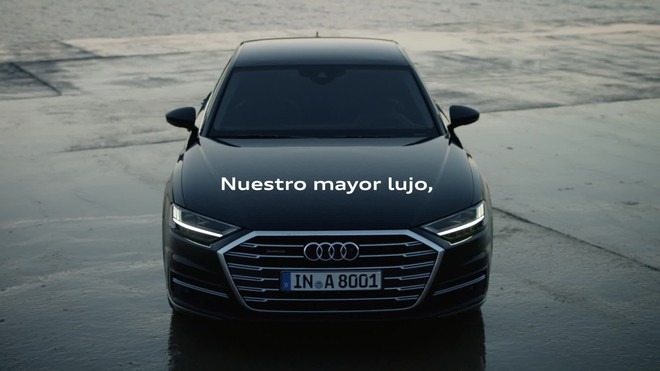 Nuevo Audi A8.