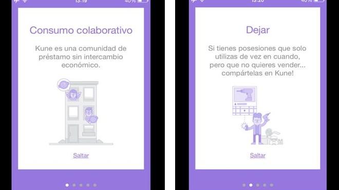 La aplicaci�n Kune ha sidodesarrollada por la cooperativa El Risell Sccl con el apoyo del Ajuntament de Barcelona: