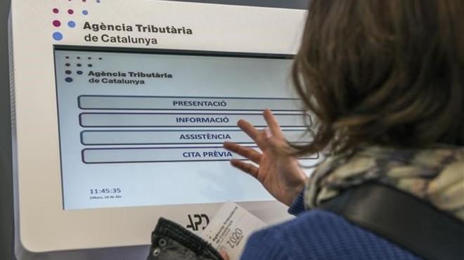 La Hisenda catalana va recaptar l'any passat 2.826 milions, el 6,36% més