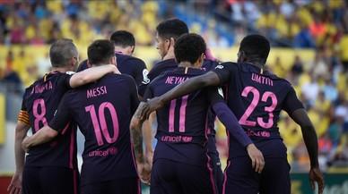 El Las Palmas-Barça de Lliga, en directe 'on line'