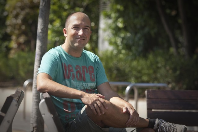 """Bernat Escudero: """"Si no mostraba agresividad y rabia, se reían de mí"""""""