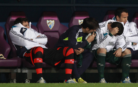 Mourinho dice que tiene la conciencia tranquila tras la derrota en Málaga