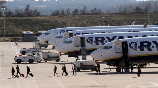 Ryanair estrenar� nueve rutas en Girona en el 2017
