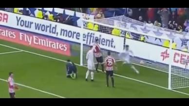 Cristiano Ronaldo hizo un gesto confuso cuando Morata resolvi� el encuentro ante el Athletic