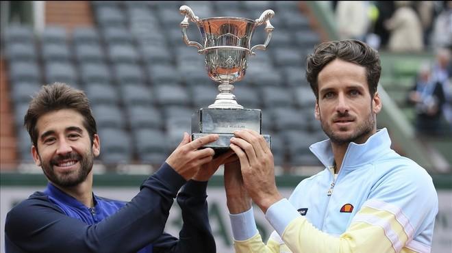 Feliciano i Marc López conquisten el seu primer Grand Slam