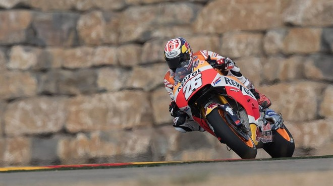 Dani Pedrosa (Honda), hoy en Motorland (Alca�iz).