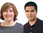Elena Sánchez-Montijano y Jonathan Zaragoza-Cristiani