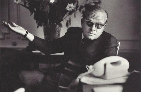 El escritor Truman Capote.