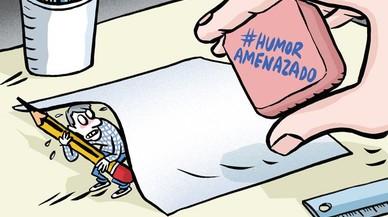 Les vinyetes del #HumorAmenazado solquen Twitter