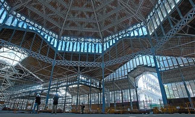 El nou mercat del Born deixarà a la vista un terç de les restes històriques
