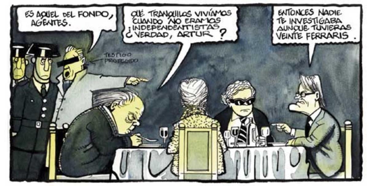 Los casos de corrupción que afectan a la antigua Convergència, vistos por Ferreres.