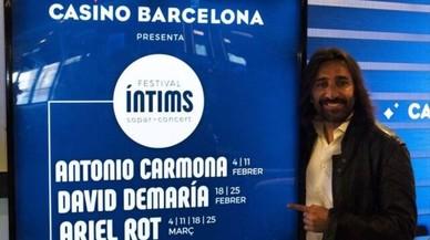 Antonio Carmona inaugura el Festival Íntims al Casino de Barcelona