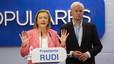 Luisa Fernanda Rudi guanya a Aragó però queda en precari