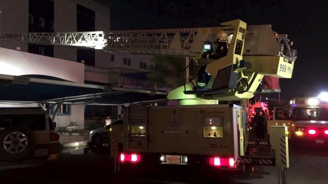Almenys 25 morts i 107 ferits en l'incendi d'un hospital a l'Aràbia Saudita