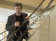 El novelista franc�s Pierre Lemaitre, en un hotel de Barcelona, en febrero.