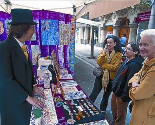 Zoco modernista en barcelona for Ferias barcelona hoy