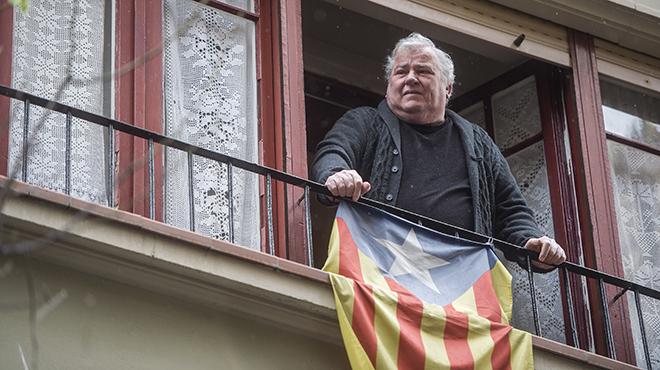 Toni Albiol, veterano pescador de la Barceloneta
