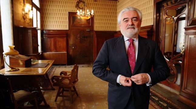 el director de la Real Academia Espanyola Dario Villanueva