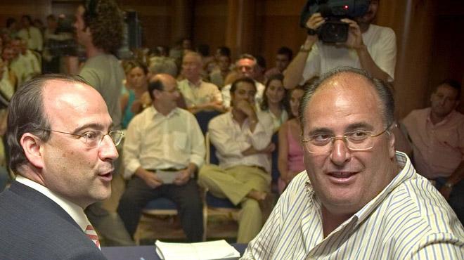 Eugenio Gonzálvez, senador del PP por Almería: Yo mando en la sombra,... que trabajen los gilipollas.
