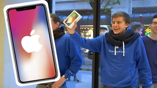 La salida del iPhone-X acaba con las colas.