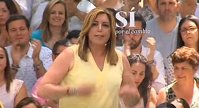 Susana D�az desencadenada