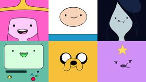 Los personajes de 'Hora de Aventuras'