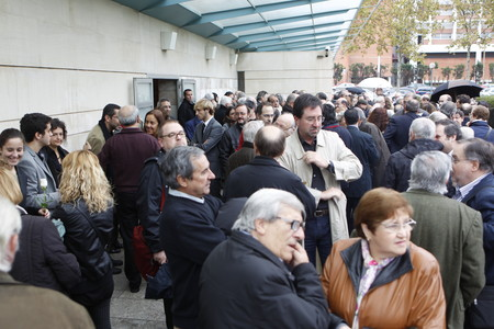El mundo del periodismo y la cultura se despide del maestro Josep Pernau