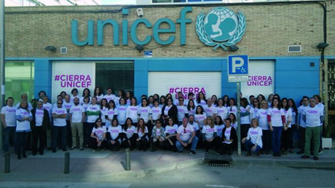 """Unicef pide la movilización para cumplir """"su sueño"""" y """"poder cerrar"""""""