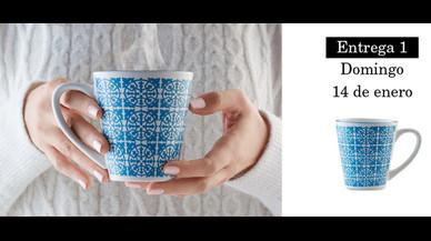 La colección de tazas de porcelana de Pilma y EL PERÓDICO