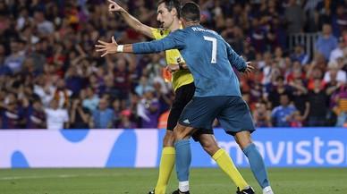 Cinc partits de sanció a Cristiano Ronaldo
