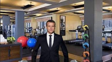 La foto oficial de Macron provoca una pluja de mems