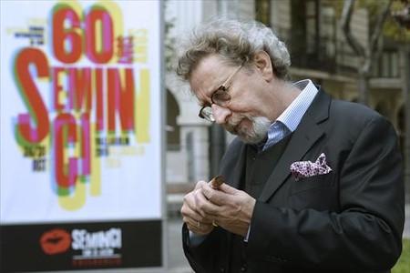 El director francés Robert Guédiguian, en la presentación de 'Una historia de locos' en la Seminci.
