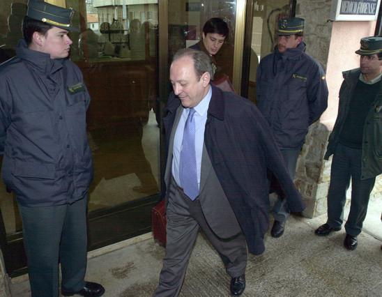 José Luis López Sors, el parapeto de los políticos en el 'caso Prestige'