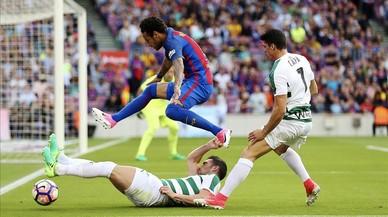 El Barça-Eibar de la Lliga Santander, en directe 'on line'