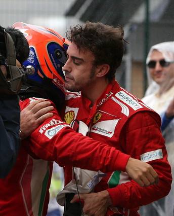 """Alonso: """"Pusimos todo el coraz�n pero no ha podido ser"""""""