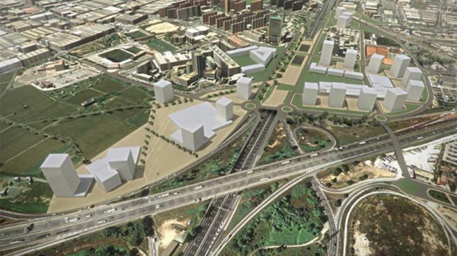 Imagen virtual de la reforma del segundo tramo de la Gran V�a.