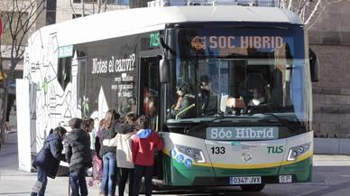 Sabadell estrena el seu primer autobús híbrid