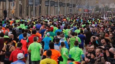 Kiplagat guanya sense rècord la mitja marató de Barcelona