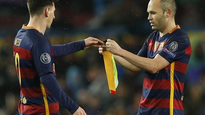 Iniesta no jugarà contra el Vila-real