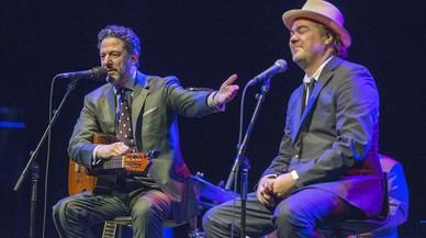 John Pizzarelli i Daniel Jobim, gent 'cool', gent 'boa'