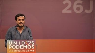 Alberto Garzón, ingressat per una infecció vírica