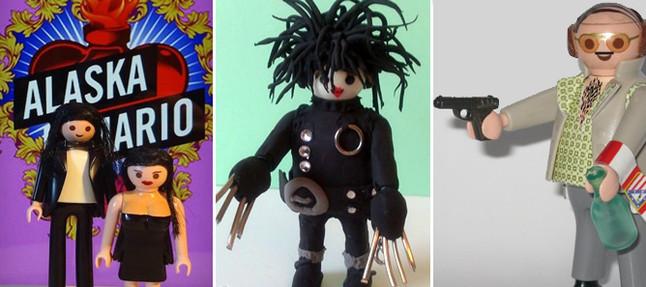 Alaska, Mario Vaquerizo y Torrente, protagonistas de la pr�xima Feria Nacional de Playmobil
